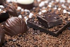Tempting Chocolate Royalty Free Stock Photos