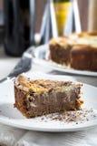 Tempting Chocolate Cheesecake Royalty Free Stock Photo