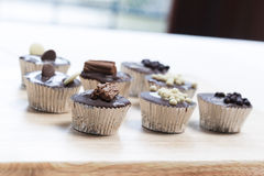 Tempting Chocolates Stock Photos