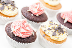 Tempting Cupcakes Royalty Free Stock Images