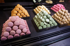 Tempting Desserts in Paris France Royalty Free Stock Photography