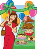 Tempting Holiday Buffet Royalty Free Stock Image