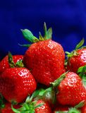 Tempting strawberry Royalty Free Stock Images