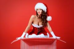Temptress santa Royalty Free Stock Photo