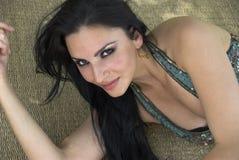 Temptress sensual imagem de stock royalty free
