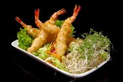 tempura γαρίδων Στοκ Εικόνα