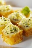 tempura крена стоковая фотография rf