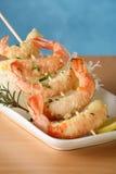 tempura протыкальника шримса Стоковые Фото