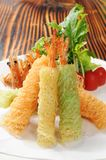 Tempura Foto de Stock Royalty Free
