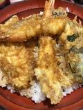tempura Royalty-vrije Stock Afbeeldingen