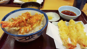 tempura Photo stock