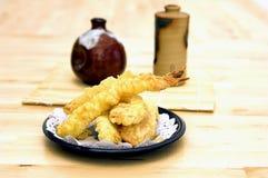 tempura γαρίδων Στοκ Φωτογραφία