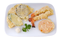 Tempura Appetizer Royalty Free Stock Images