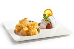 Tempura Camembert Royalty Free Stock Photography