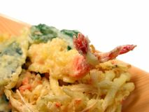Tempura close-up Royalty Free Stock Image