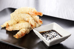 Tempura de crevette Photo stock