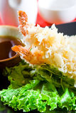 Tempura dei sushi Fotografia Stock