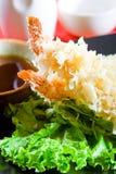 Tempura del sushi Fotografía de archivo