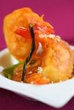 Tempura do camarão Fotografia de Stock