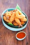 Tempura do camarão Fotografia de Stock Royalty Free