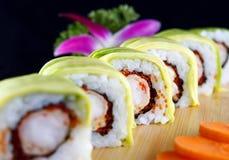 Tempura do camarão com chese Imagem de Stock Royalty Free