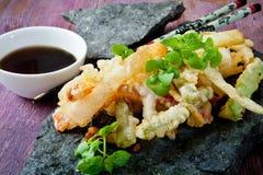 Tempura food Stock Photography