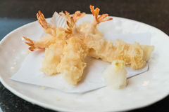Tempura - Food and Japanese food. Tempura - Food and Japanese food style Royalty Free Stock Photo