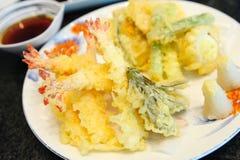 Tempura Fried Shrimp Stock Photos