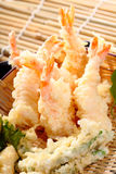 Tempura Fried shrimp Stock Photo