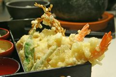 Tempura goodness Royalty Free Stock Photo