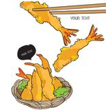Tempura , Japanese Food Stock Image