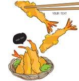 Tempura , Japanese Food Stock Image