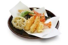Tempura, japanische Nahrung Stockfotografie