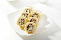 Tempura Maki Sushi Stock Photo