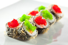 Tempura Maki Sushi Royalty Free Stock Photo