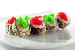 Tempura Maki Sushi Royalty Free Stock Images