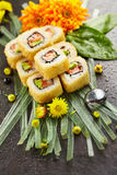 Tempura Maki Sushi Roll Stock Photo