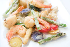 Tempura Platter Royalty Free Stock Photos
