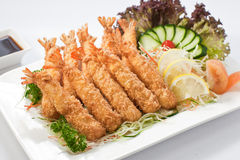 Tempura Prawn Stock Photos