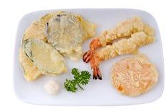tempura przystawki Obrazy Royalty Free