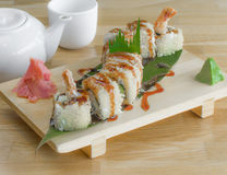 Tempura Roll Royalty Free Stock Photography