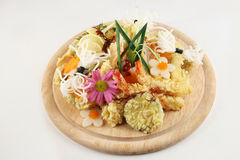 Tempura set Stock Photography