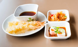 Tempura set Stock Images