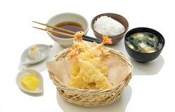 Tempura Set Stock Image