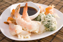 Tempura Shrimp Stock Photos