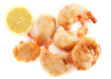 Tempura shrimps Royalty Free Stock Image