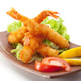 Tempura Shrimps Stock Image
