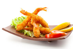 Tempura Shrimps Stock Photos