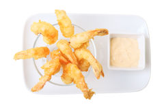 Tempura shrimps Stock Photography