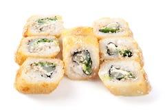 Tempura-Sushi Stockfotografie